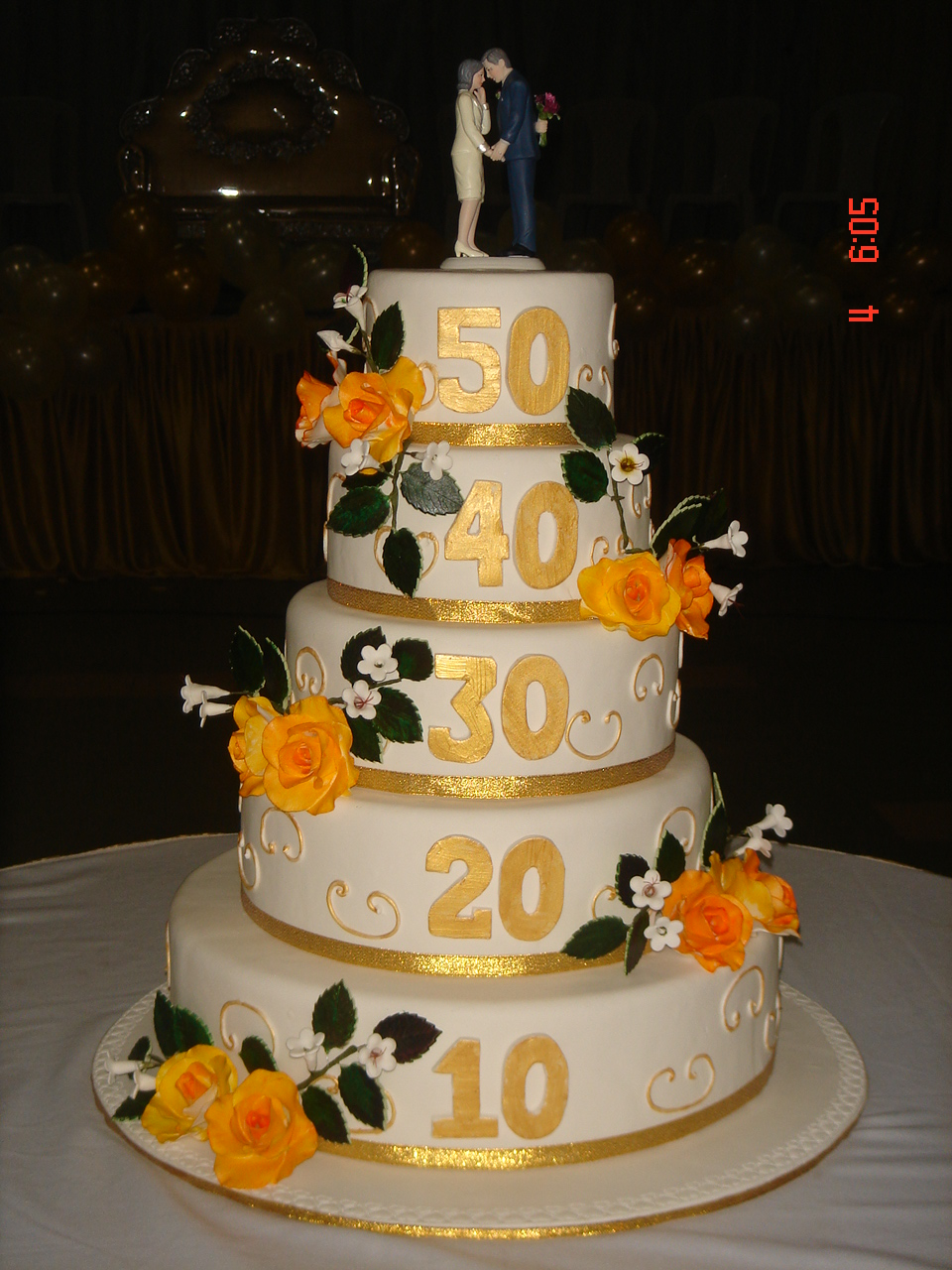 buy online cake on 50th anniversary wedding cakes. Black Bedroom Furniture Sets. Home Design Ideas