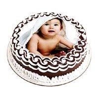 1 Kg Chocolate Photo Cake