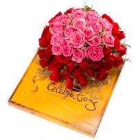 Loverly Roses with Chocolates