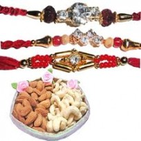 Rakhi, dry fruit