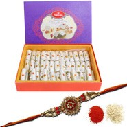 Kaju Roll with Rakhi