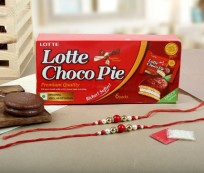 Choco Pie With Rakhis