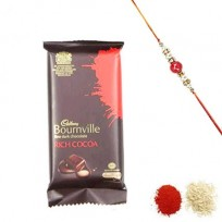 Dark Chocolate with Rakhi