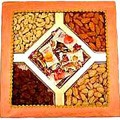 1KG Mix dry fruits(cashew, almonds, pista, raisins etc)in a box