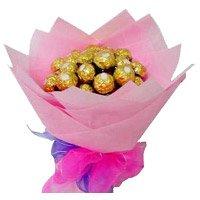 16 Pcs Ferrero Rocher Bouquet
