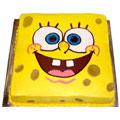 2.5 Kg Sponge Bob Cakes