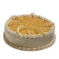 500 gm Butter Scotch Cake