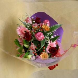 Beautiful Bunch of 15 Mixed Flowers