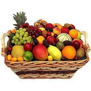 Healthy Fresh Fruits Basket