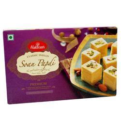 1 kg Pack of Haldirams Soan Papdi