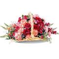 Mixed Flower Basket 40 Flowers