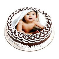 1 Kg Chocolate Photo Cake