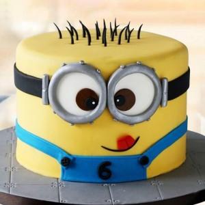 2 Kg Funny Minion Cake