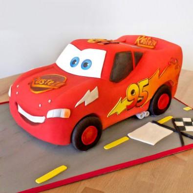 3 Kg Cars Fondant Cake