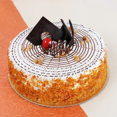 Birthday Butterscotch Cake