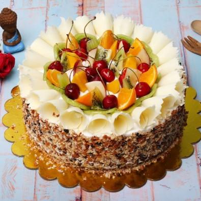 Fruit Cake in Pineapple flavor