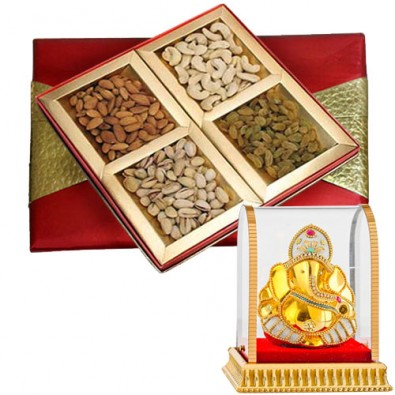 Mix Dry Fruits with Vinayak Idol
