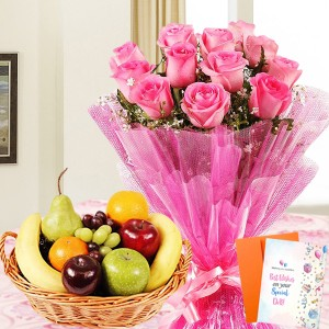 Pink Rose Fruity Combo