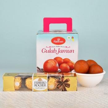 1 kg Gulab Jamun N Ferrero Rocher