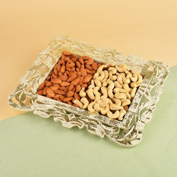 Tray of Dry Fruits