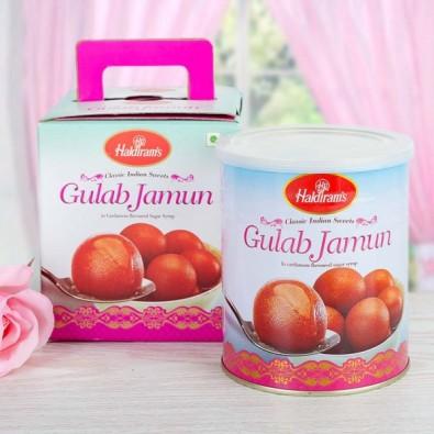 1 Kg Halidrams Gulab Jamun