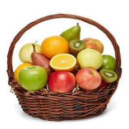 Fresh 5 KG Mix Fruit Basket
