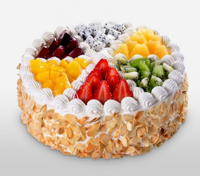 1 kg  juicy fruit  cake
