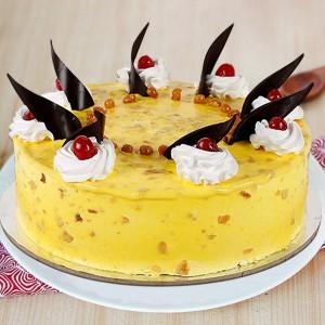 Tasty 500 gms Pineapple Cake