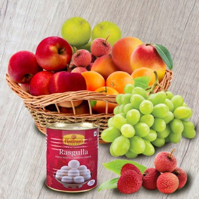 Sweet with fruits