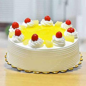 1 Kg tasty Pineapple Cake