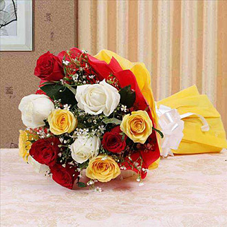 10 Assorted Rose