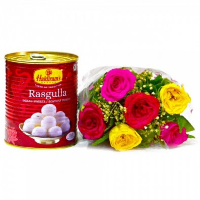 6 Mix Roses With Mouthwatering Rasgullas