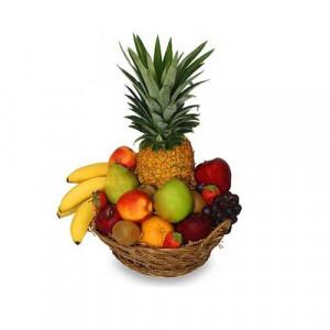 Delicious 2 kg Basket of Fruits