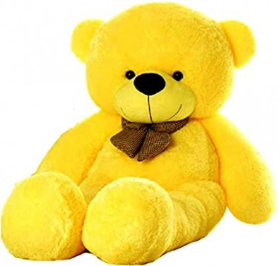 12 inch yellow teddy