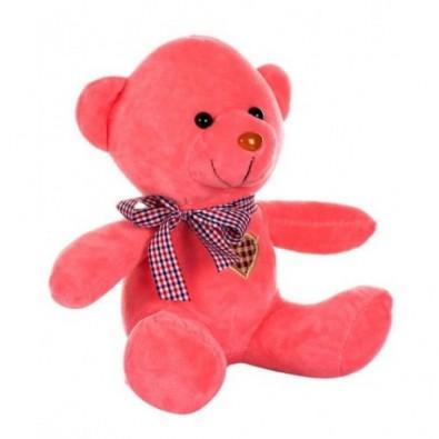 12 inch pink teddy