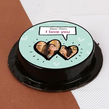 1 kg Truffle Sensation Photo Cake