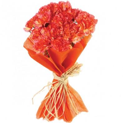 12 Stalks Orange Carnation