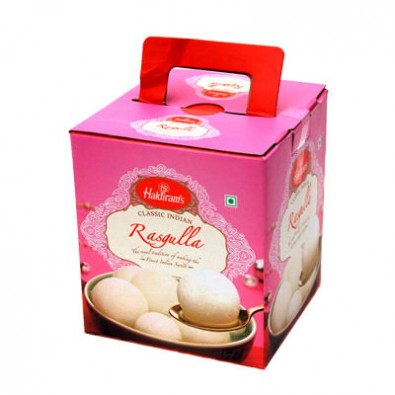 1 Kg White Rasgulla From Haldiram