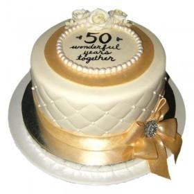 3 kg Golden Jubilee Cake