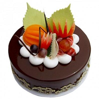 500 gms CHOCOLATE FRUIT CAKE