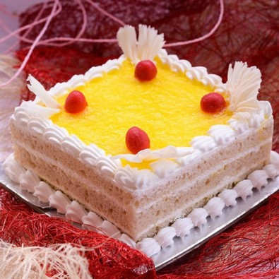 500 gms Classical Square Pineapple cake