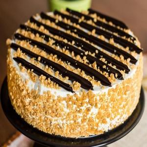 500 gms cruncy Butterscotch Cake