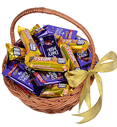 CHOCOLATE BASKET HAMPER