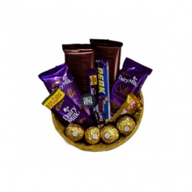 nice chocolate basket