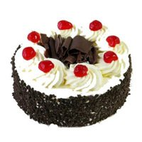 black forest cake, fresh cream cake