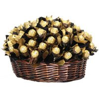 48 Pcs Ferrero Rocher Basket