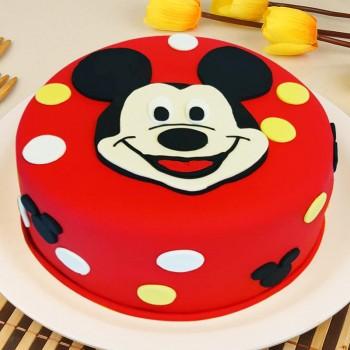 2 Kg Micky Mouse cake
