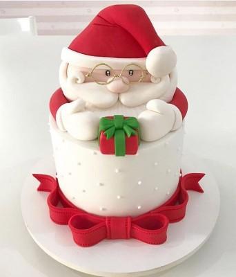 2 Kg Santa Shape Cake