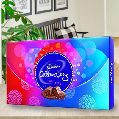This Pack includes Cadbury dairy milk bars, nutties, gems, five star and crunchy perk