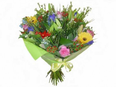 A Colourful wish of 20 mixed Flowers